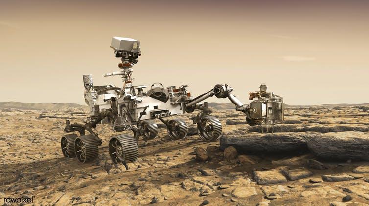 Ровер Mars 2020 вернется на Землю с образцами марсианского грунта